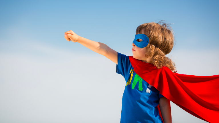Child Super Hero | Children's Dentist Concord NH